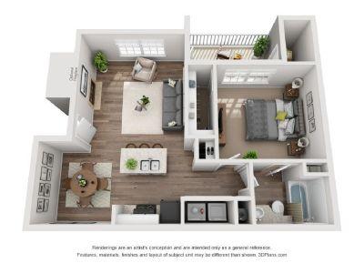 1 Bedroom 1 Bathroom Luxury Apartment (North Raleigh)