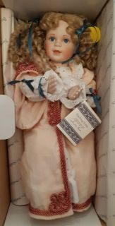 """16"""" NEW """"Teaching Teddy"""" Porcelain Doll In Box Pick-up in Newmarket"""
