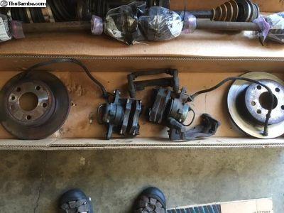 Vanagon front brakes
