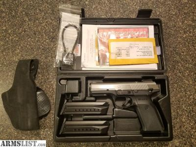 For Sale: Ruger SR9 Stainless