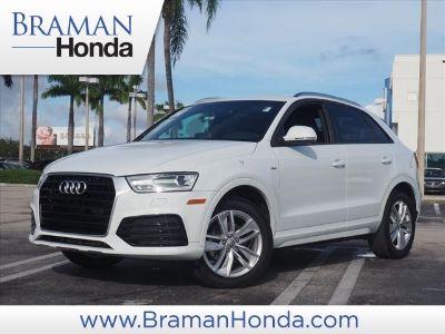 2018 Audi Q3 2.0T Premium (white)