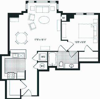 1 bedroom in Lyon Village