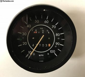 VW Superbeetle VDO Speedometer