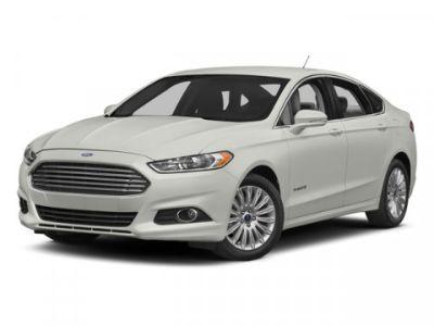 2014 Ford Fusion Hybrid Titanium (White)