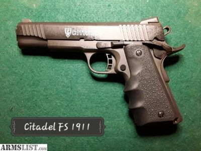 For Sale: Citadel CIT9MMFSP 1911 Full Size
