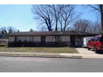 3 Bed 1.5 Bath Foreclosure Property in Glendora, NJ 08029 - 3rd Ave