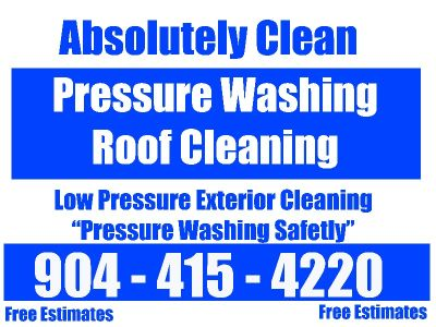 Pressure Washing & Roof Cleaning