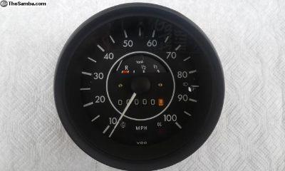 Superbeetle Speedometer w/ Fuel gauge. Full resto