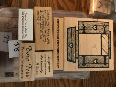 Mounted Rubber Stamps