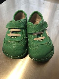 Green Jack and Lily toddler size 6/6.5
