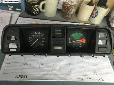 Vanagon Instrument Cluster With Tachometer
