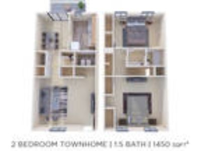 Brookside Manor Apartments & Townhomes - Two BR 1.5 BA Townhome