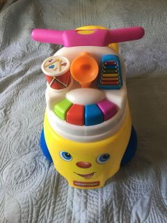 Fisher price little people melody ride on