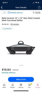 Brand new electric skillet in box