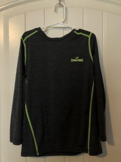 Size 6/7 LIKE NEW Long Sleeved DRI-POWER Shirt SPALDING BRAND SEE MY OTHER LISTINGS OF GREAT KIDS CLOTHES