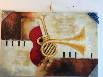Music Oil Painting