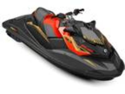 2019 Sea-Doo RXP -X 300 Black and Lava Red