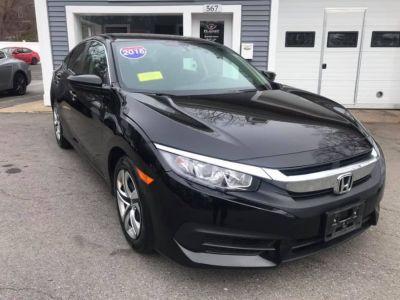 2016 Honda CIVIC SEDAN 4dr CVT LX (Black)