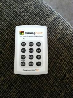$20 OBO Turning Point Clicker MUST GO