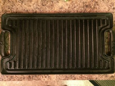 Emeril Cast Iron Griddle/Grill and Anolon Panini Press