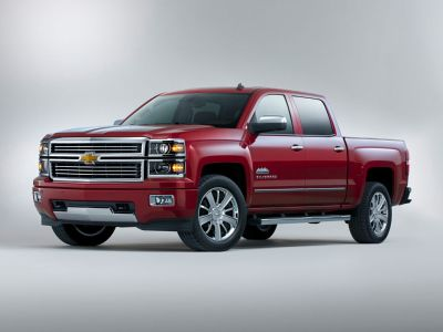 2015 Chevrolet Silverado 1500 High Country (Black)