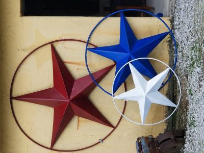 Metal Stars in 3 Sizes Now!