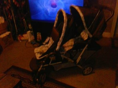 $$  double baby stroller $$
