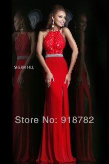 Sherri Hill Red Size 0 Ball Gown