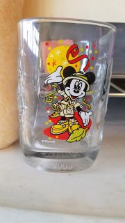 Mickey collectable glass cup