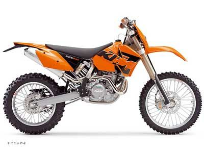 2005 KTM 525 EXC Racing Dual Purpose Motorcycles Costa Mesa, CA