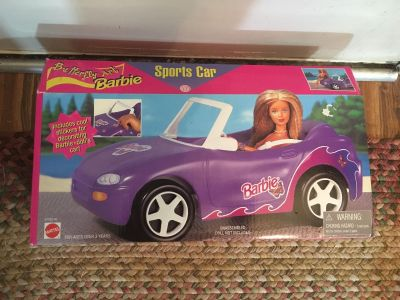Barbie Sports Car Brand New Never Opened