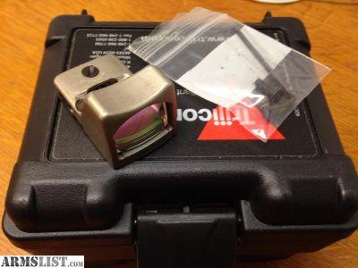 For Sale: Trijicon RMR RM01 Red Dot Reflex Sight NiB Nickel Finish