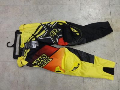 Sell ANSWER ROCKSTAR ENERGY PANTS SIZE ADULT 34 WAIST NEW 2014 STYLE motorcycle in Alexandria, Virginia, US, for US $109.99