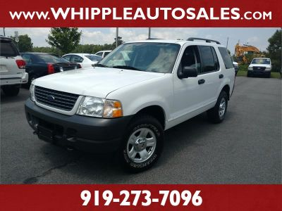 2003 Ford Explorer XLS (White)