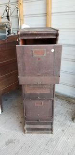 ANTIQUE file cabinet!!!!