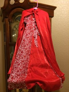Little Red Riding Hood Dress up or Costume (or Renaissance Festival) with Cape