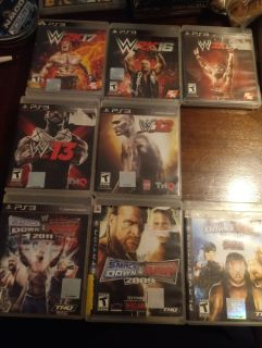 WWE PS3 games