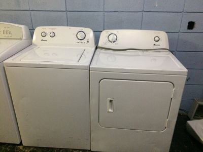 Amana Matching Washer and Dryer Set