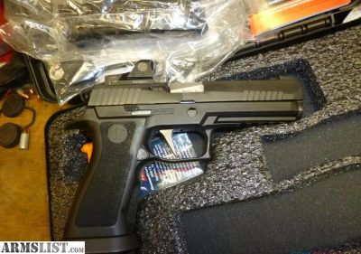 For Sale: Sig P-320 X-5 w Romeo Red Dot Sight