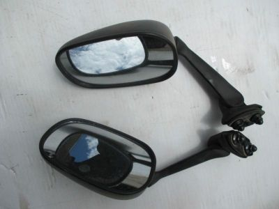 Find 2008-20012 YAMAHA YZF R6 PAIR RIGHT LEFT MIRRORS MIRROR REAR VIEW RH LIGHT RASH motorcycle in Cedar Springs, Michigan, US, for US $34.32