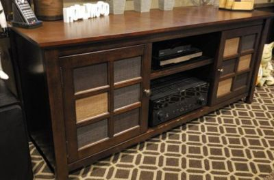 TV Stand Entertainment Media Console Cabinet