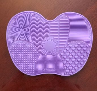 Large Makeup brush silicone drying mat