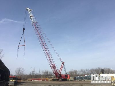 2002 Manitowoc 555 Lattice-Boom Crawler Crane