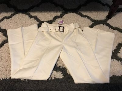 New Off white Dress Pants size Small