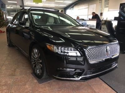 2017 Lincoln Continental Reserve (Diamond Black)