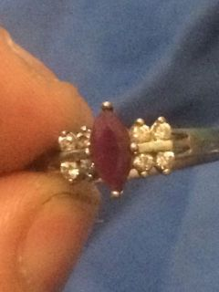 Rj graziano Sterling silver collectible ring