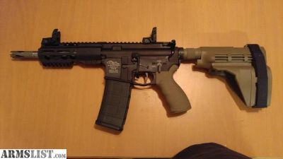 "For Sale: Ar15 7.5"" pistol"
