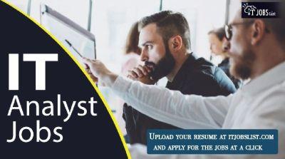 IT Analyst Jobs – Jobs At ITJobsList.com