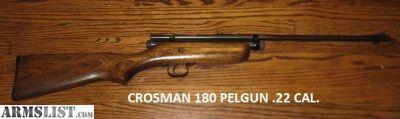 For Sale: Vintage CROSMAN 180 PELLGUN
