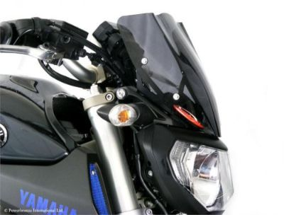 Purchase Yamaha FZ-09 MT09 14 16 Light Screen Shield Windshield 270mm L Tint MADE IN UK motorcycle in Ann Arbor, Michigan, United States, for US $99.95
